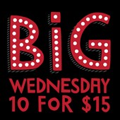 BiG WEDNESDAY ... fresh comedy night